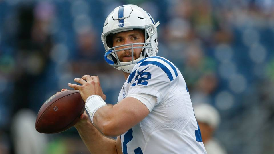 Andrew Luck on his arm strength: 'I can make all the throws'