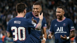 Lionel Messi, Kylian Mbappe and Neymar should be a potent PSG front three