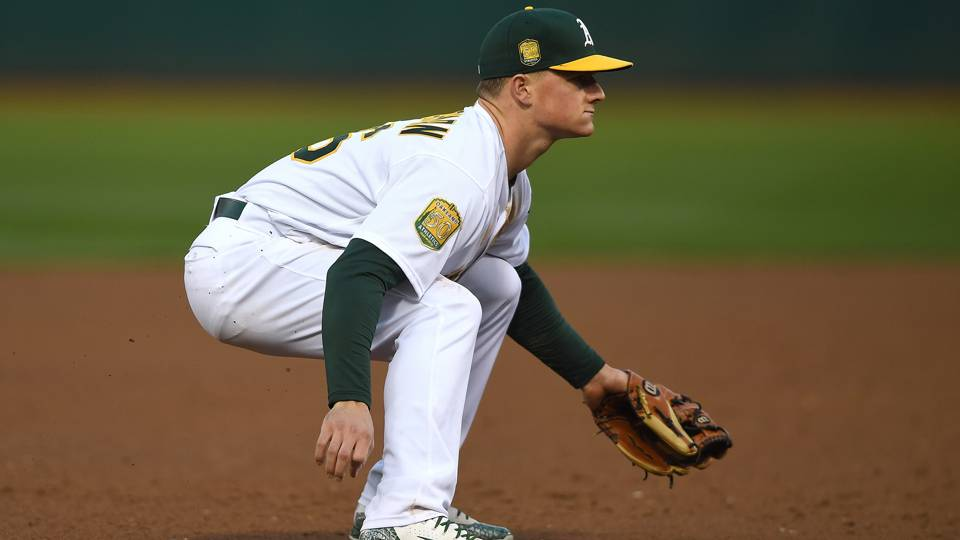 A's Matt Chapman, one of game's best defenders, has one of worst half innings vs. Astros