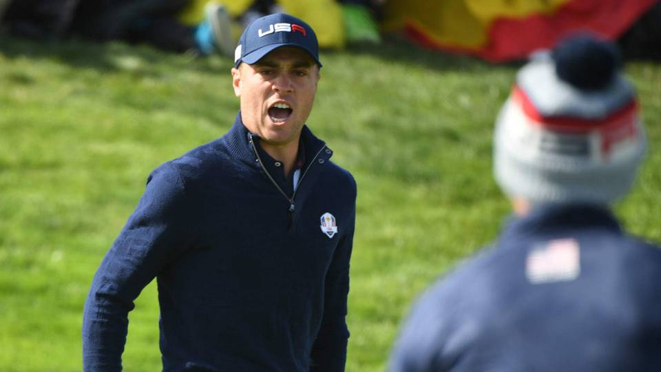 Ryder Cup 2018: Justin Thomas completes impressive weekend for Team USA