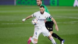 Karim Benzema and Real Madrid struggled against Betis