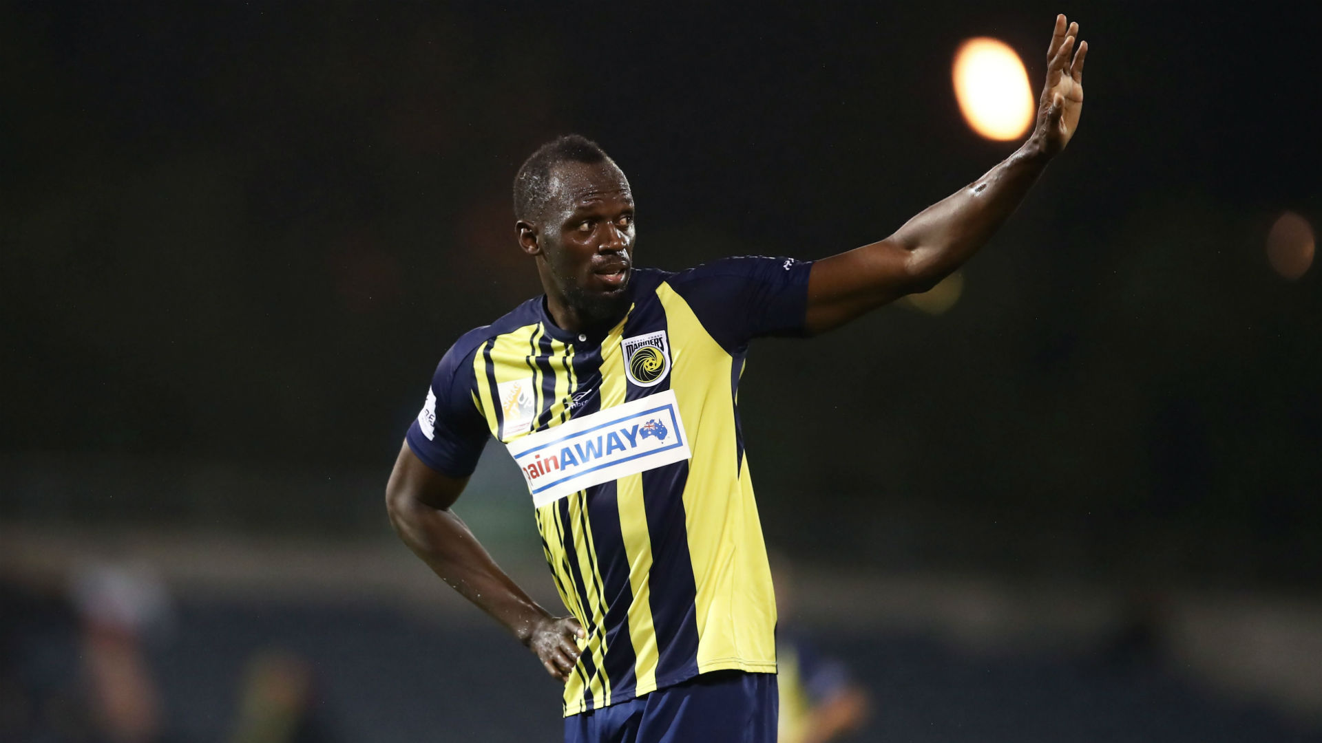 Footballer Bolt surprised by demand for drugs test