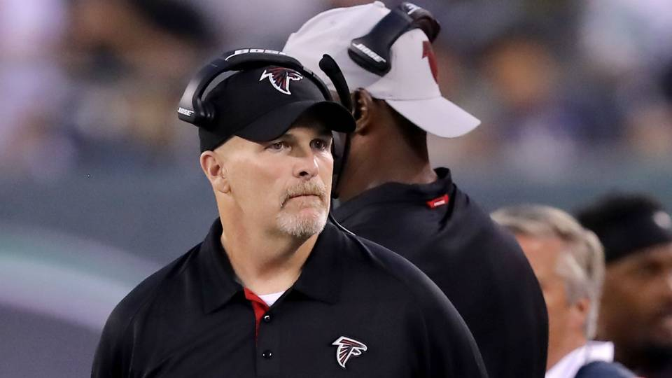 Falcons coach Dan Quinn latest to question new NFL helmet rule