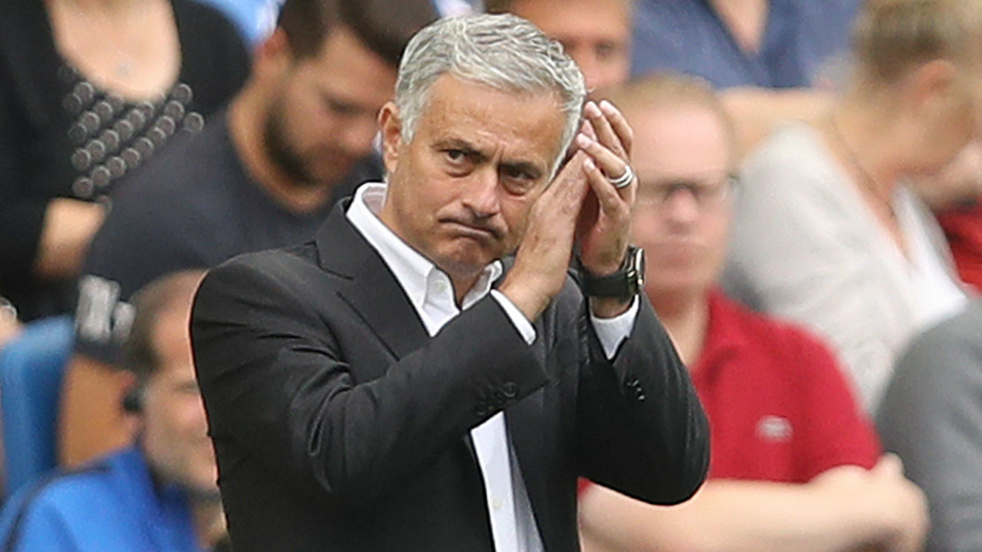 Jose Mourinho storms out of press conference demanding respect