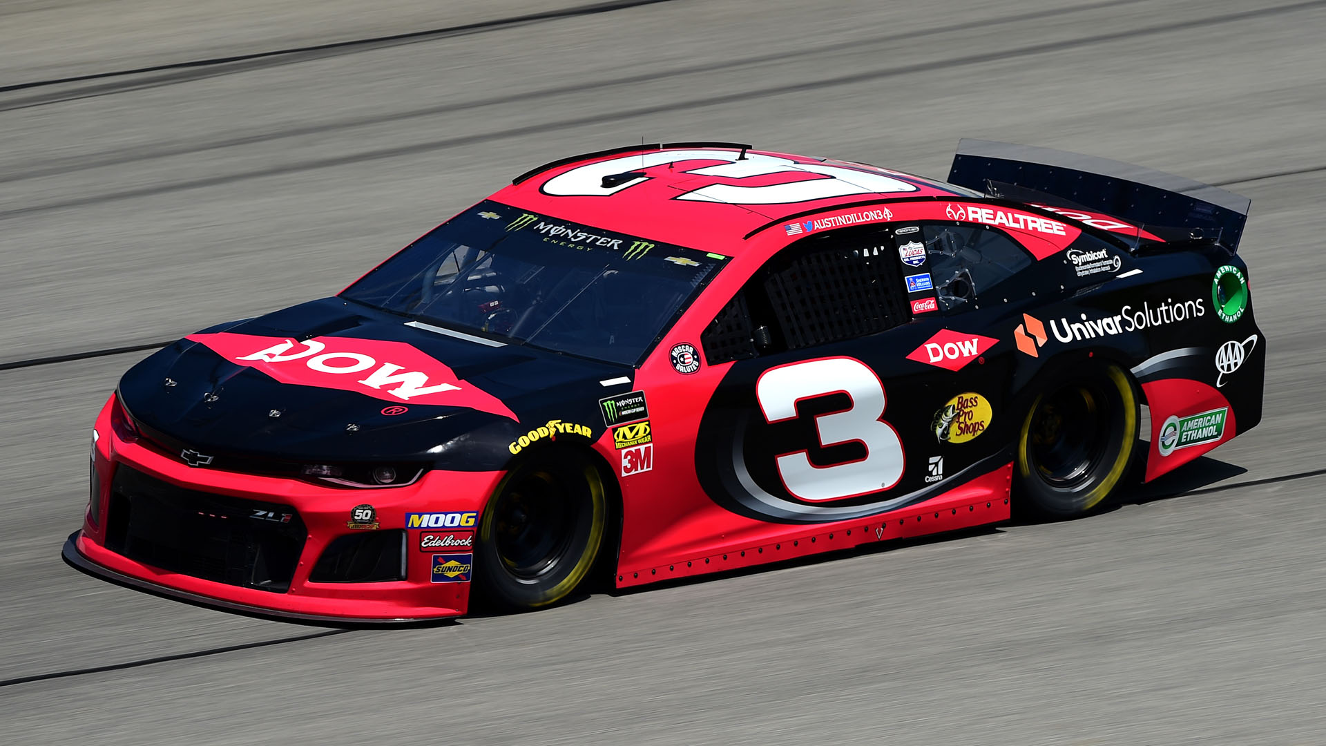 NASCAR starting lineup at Chicago: Austin Dillon on pole; Kevin Harvick starts 2nd