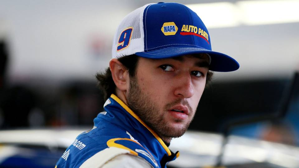 NASCAR starting lineup at Bristol: Chase Elliott wins pole after Ryan Blaney sets record