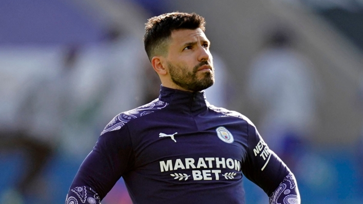 Manchester City striker Sergio Aguero