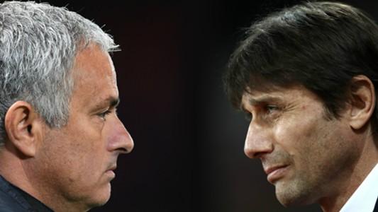 Conte and Mourinho - Cropped