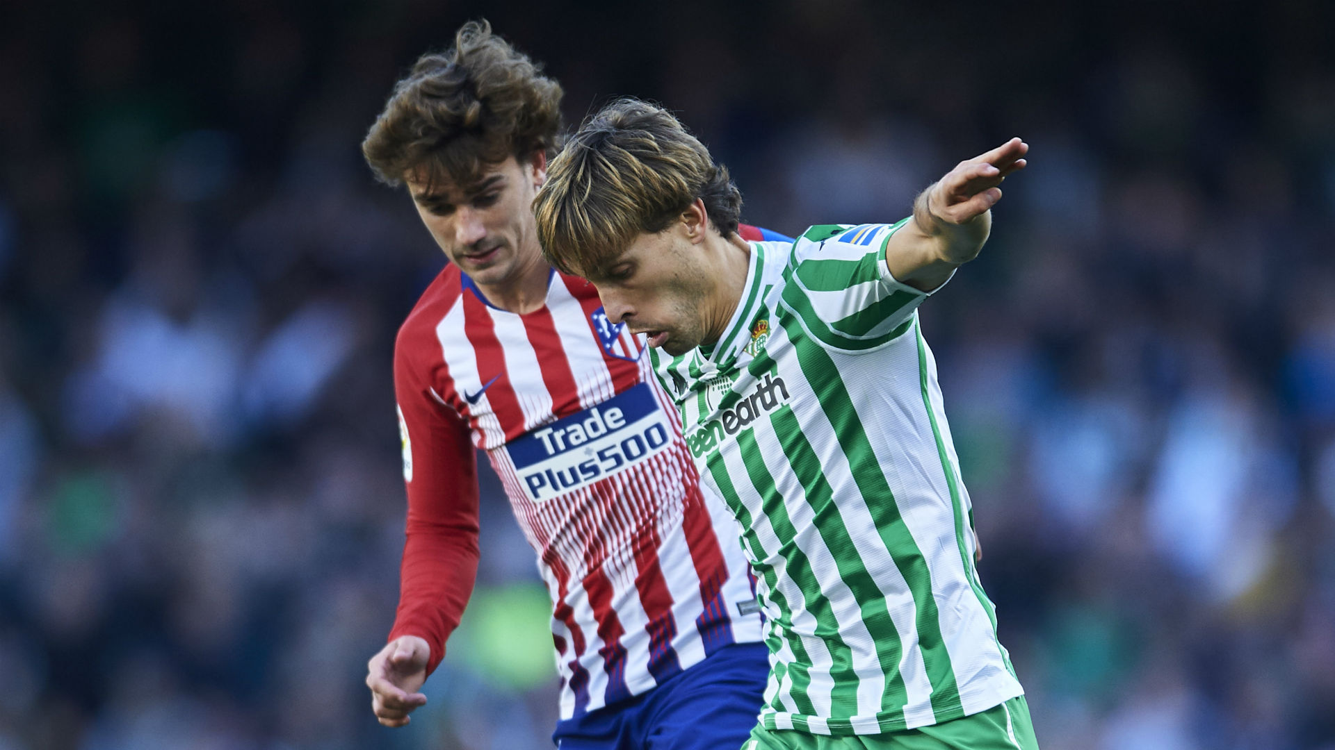 Atletico suffer defeat at Betis in Morata La Liga debut
