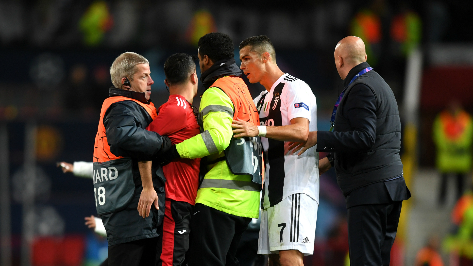 Manchester United Fined Over Ronaldo Pitch Invasions