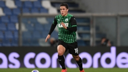 Sassuolo striker Giacomo Raspadori