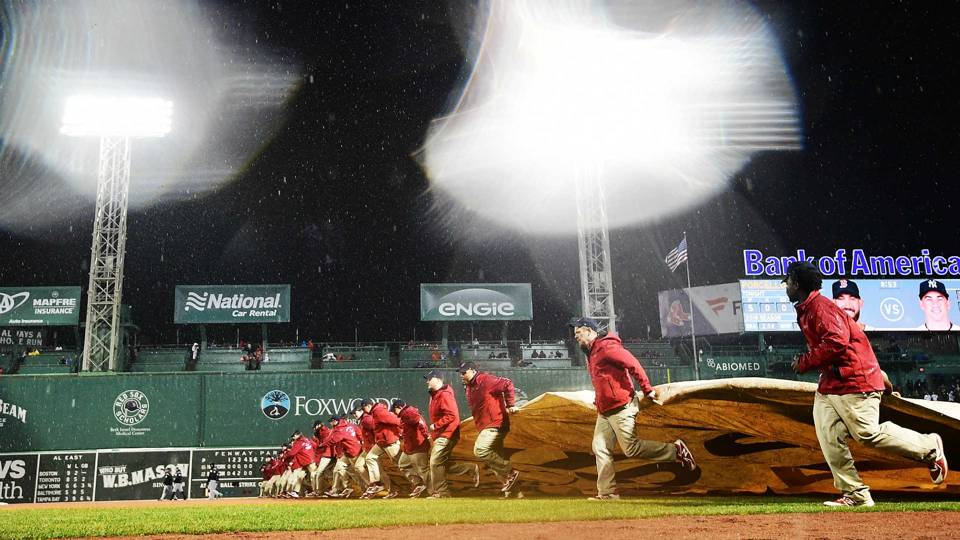 Red Sox's traditional Patriots Day game postponed