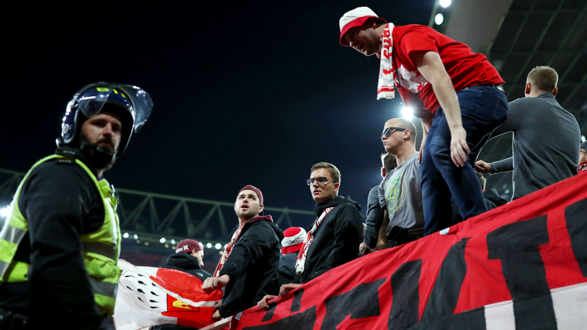 Cologne boss Stoger refuses to be drawn on crowd problems