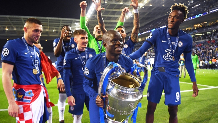 Chelsea will be out to retain their Champions League trophy