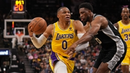 Russell Westbrook of the Lakers