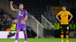Harry Kane was on target as Tottenham defeated Wolves in the EFL Cup on Wednesday