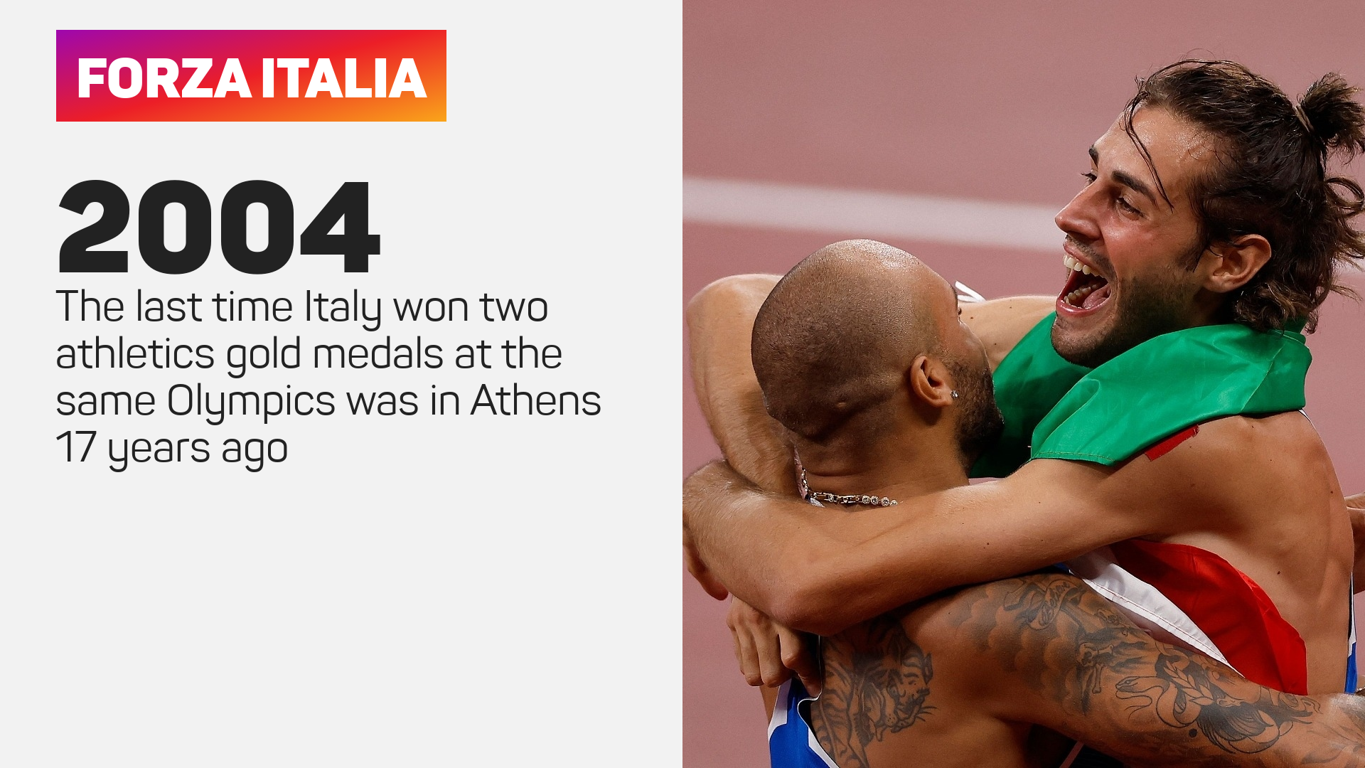 Italy two golds