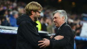 Jurgen Klopp and Carlo Ancelotti