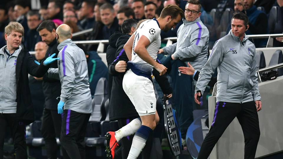 Tottenham says Harry Kane has 'significant' ankle injury