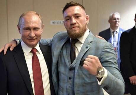 UFC star McGregor: Putin one of the greatest