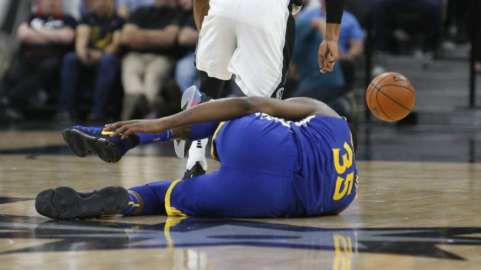 Kevin Durant injury update: Warriors F 'nice' after ankle injury, Game 3 exit