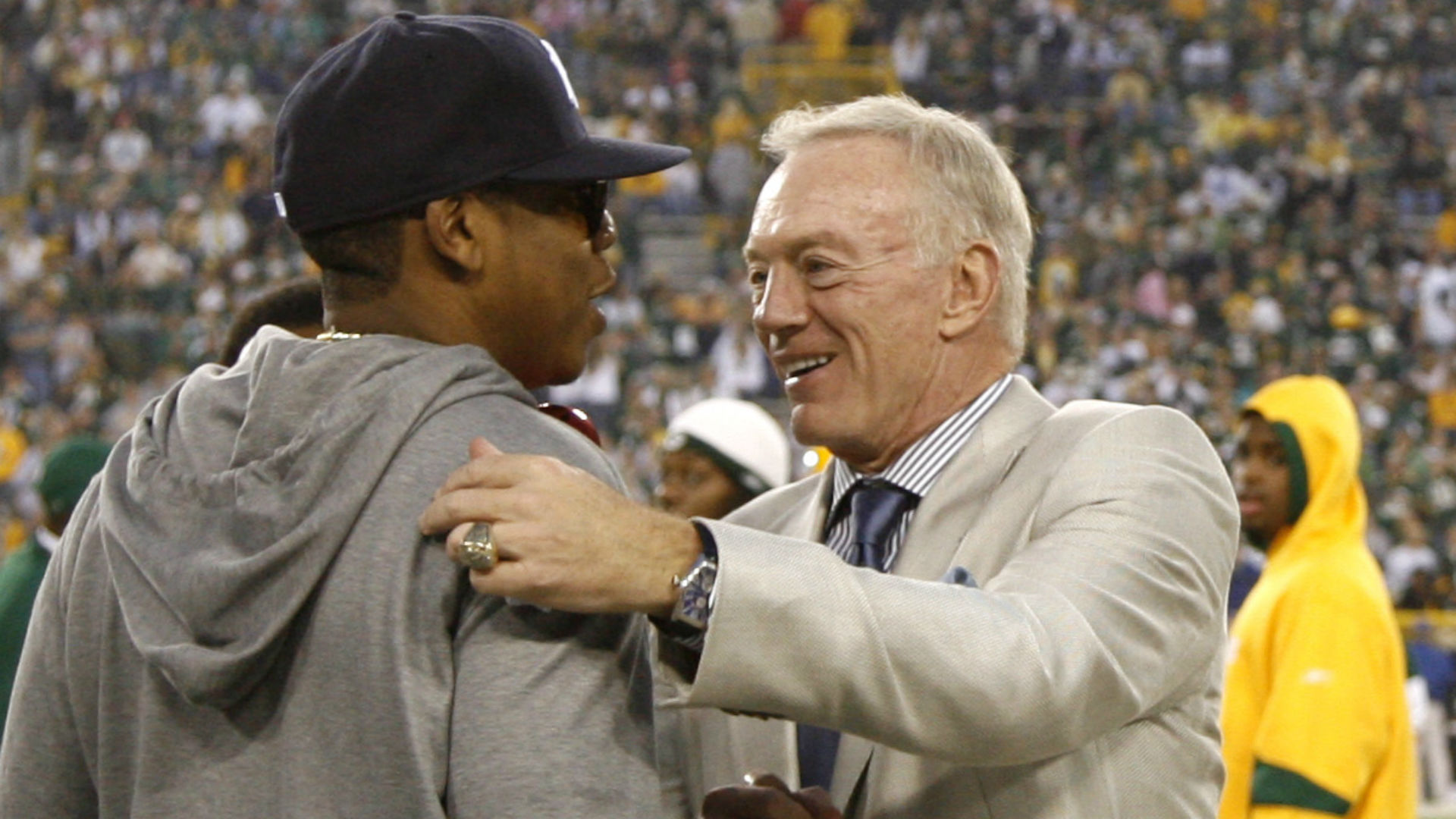 Jerry Jones Praises Jay Z Roc Nation For Work With Dez