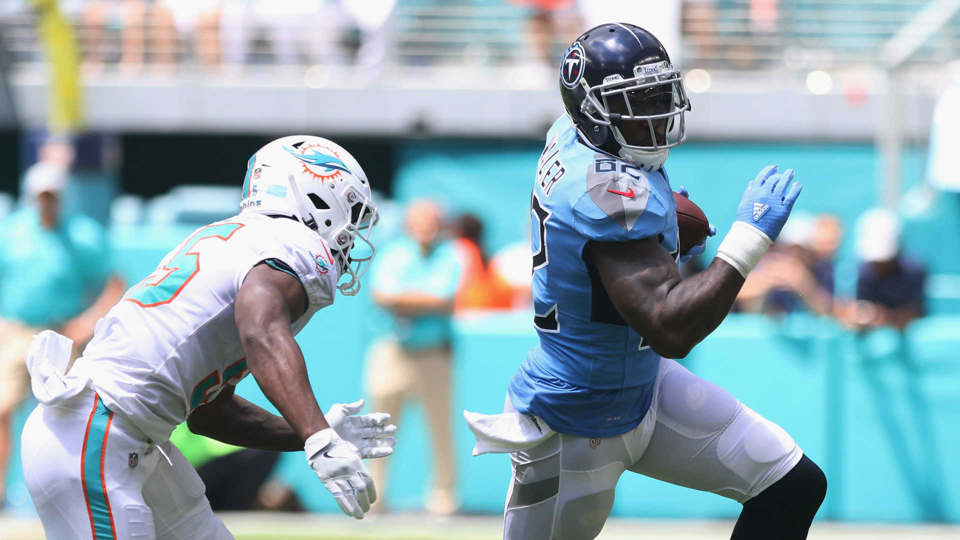Delanie Walker injury update: Titans TE out for season ...