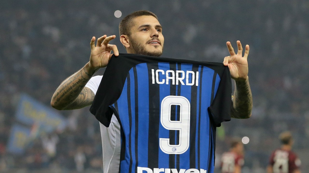 Inter hero Mauro Icardi relishes derby hat trick I had to score
