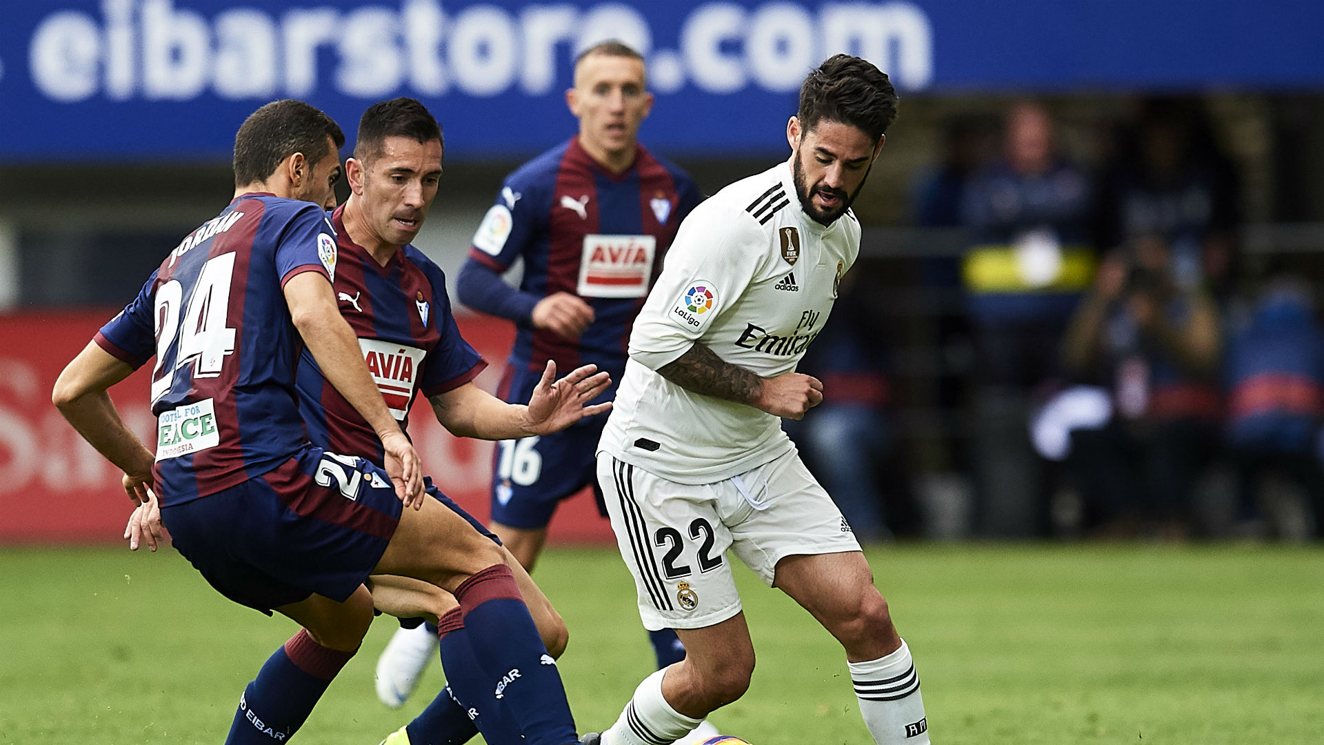 Isco warned he 'must work' to earn Madrid spot