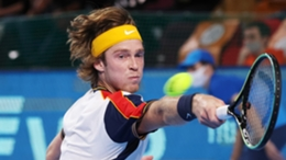 Andrey Rublev lost in Moscow on Thursday