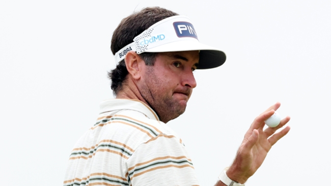 Two-time major winner Bubba Watson got a weight off his mind