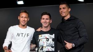 Neymar Messi Ronaldo