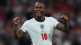 Raheem Sterling has scored three goals to lead England to the final of Euro 2020