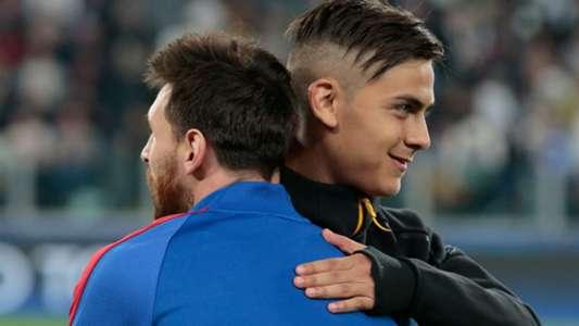'Messi comparisons hurt Dybala' - Davids admits Barcelona star is a class above