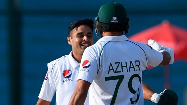 Abid Ali and Azhar Ali