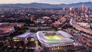 Rendering of LAFC stadium