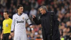 Ozil Mourinho - cropped