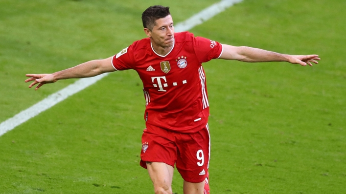 Robert Lewandowski is out for more goal records again in this season's Champions League group stage