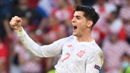 Alvaro Morata propelled Spain towards a thrilling win