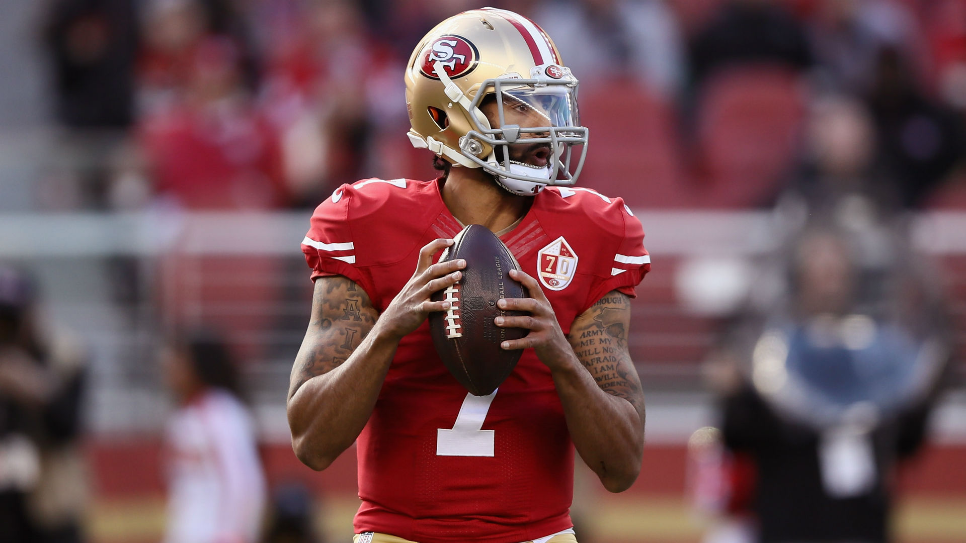 The 80 QBs with NFL starts since Colin Kaepernick's last appearance 1,000 days ago