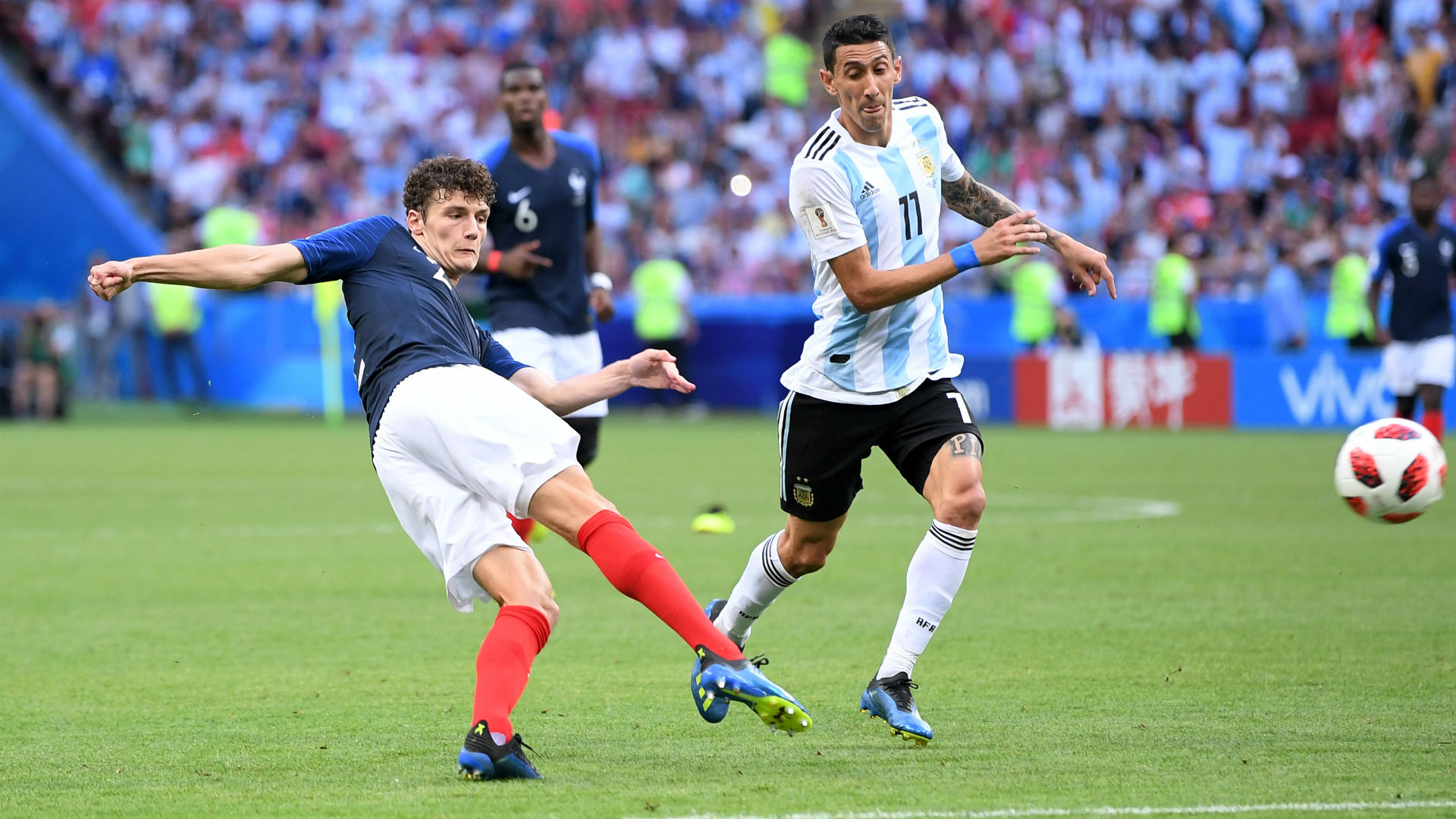 Pavard's stunner against Argentina voted best of World Cup