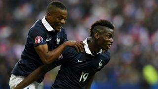 Patrice Evra and Paul Pogba - cropped