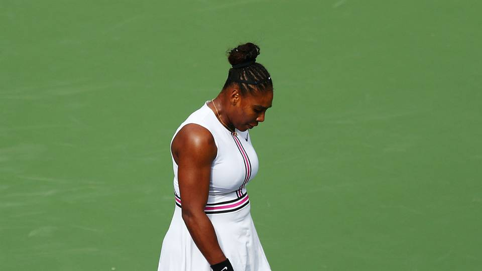 Illness forces Serena Williams to retire against Garbine Muguruza