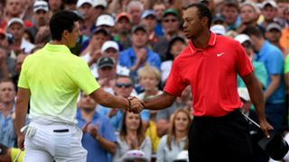Rory McIlroy Tiger Woods - cropped