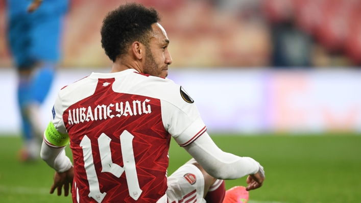 Pierre-Emerick Aubameyang now appears set to stay at Arsenal