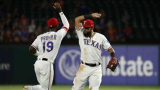 Jurickson Profar, left, and Rougned Odor