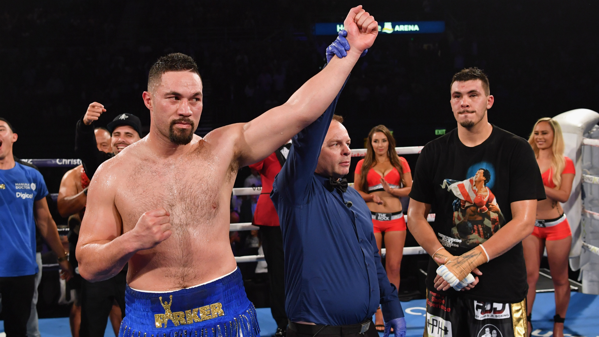 Joseph Parker defiant on low blow claims after ending 2018 'with a bang'