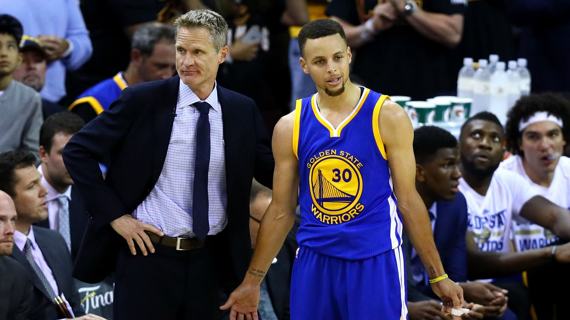 Steve Kerr: Warriors will get better with Steph Curry out 'because we have to'
