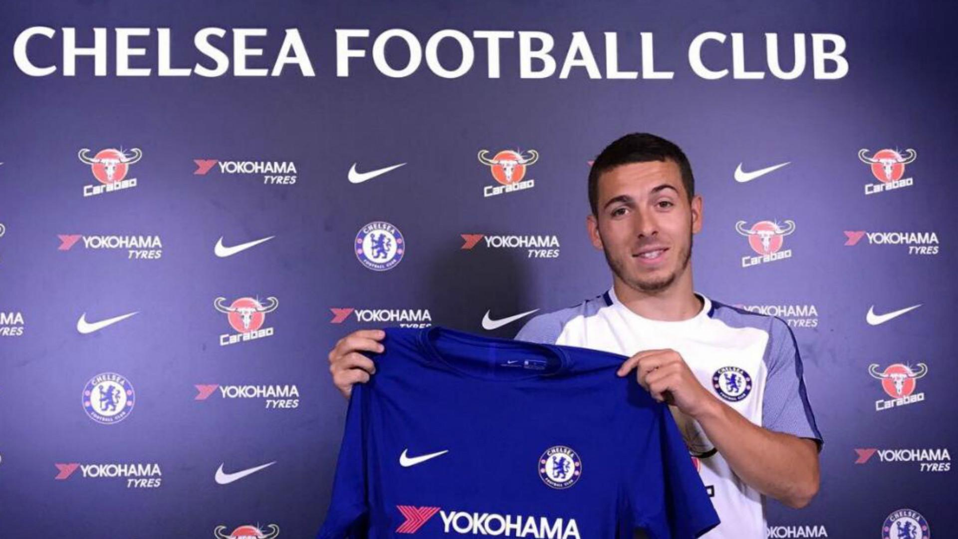 Chelsea sign Eden Hazard's younger brother Kylian