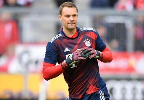 Neuer makes DFB-Pokal final squad
